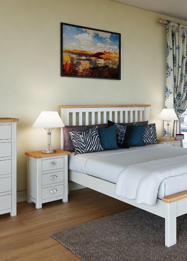 Modern Cream Bedroom | Print