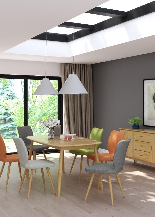 Retro Oak Living/Dining | Print