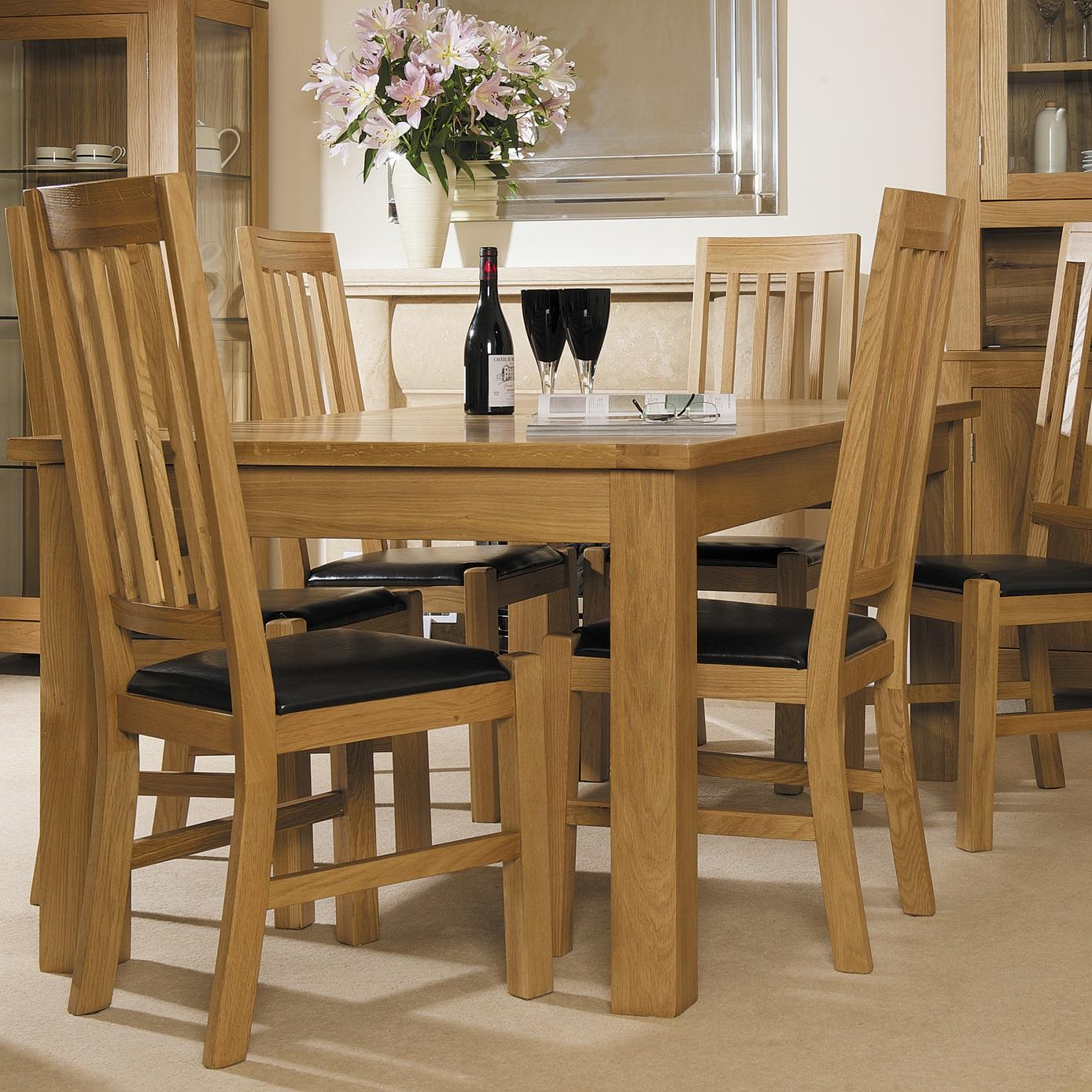 Solid Oak Living/Dining | Print