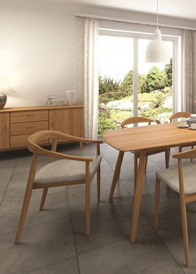 Retro Oak Living/Dining | Print