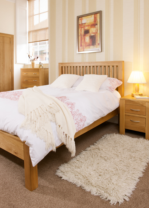 Solid Oak Bedroom | Print