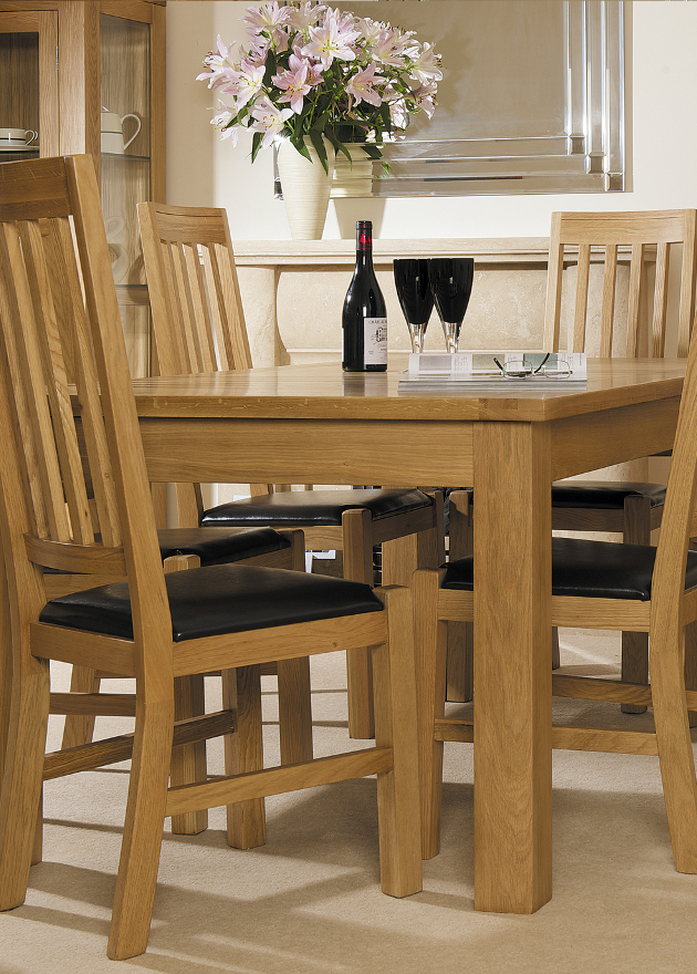 Solid Oak Living/Dining | Print